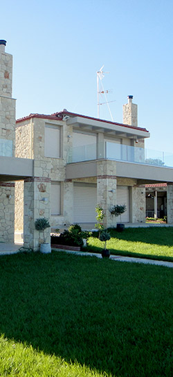 two story house in Panorama Chalkidiki